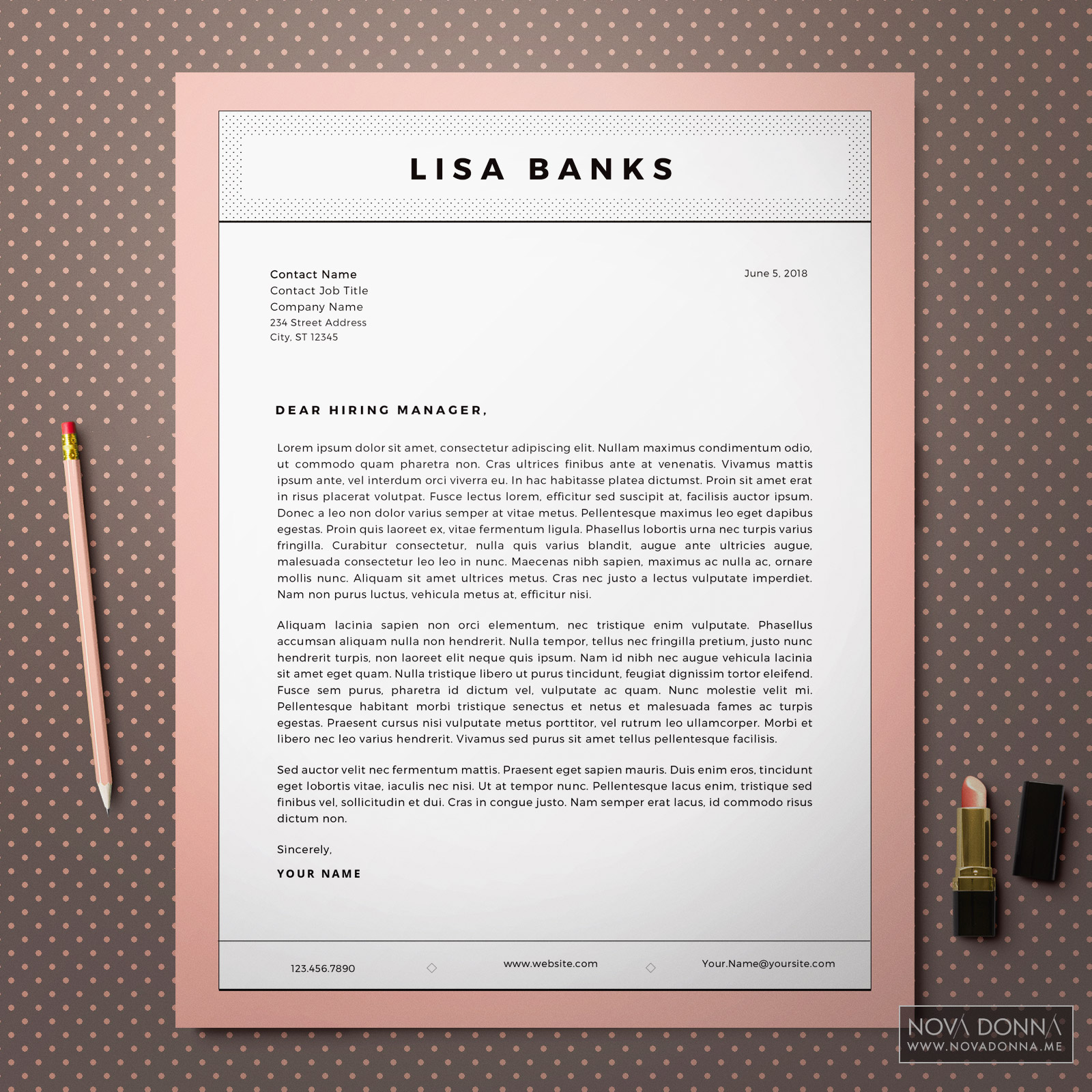 Resume Template / CV Template Design for Word + Cover Letter | Printable on letter design objects, letter design examples, letter design stencils, letter design christmas, letter design paper, letter design ideas, letter design fonts, letter design cards, letter design printables, letter typography, letter g designs, letter design drawings, letter design clipart, letter t designs, letter design logos, letter design help,