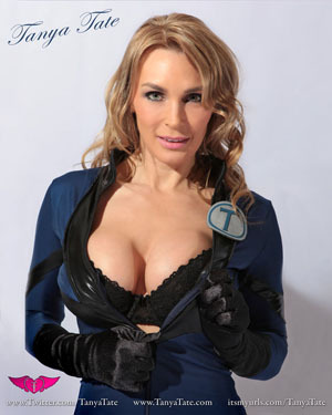 8 X 10 Tanya Tate Cosplay Blue Catsuit Boobs Print On Storenvy