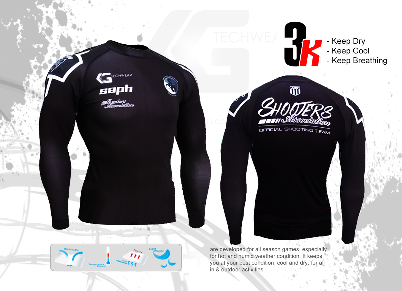 Compression Wear - Shooters Association on Storenvy 4d52df150