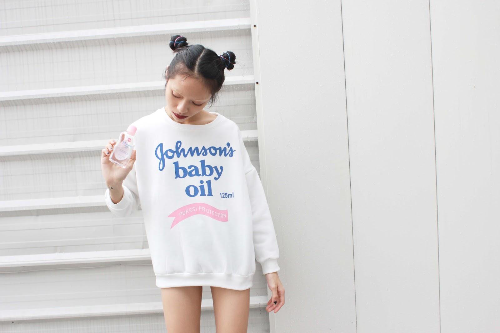 johnson baby oil