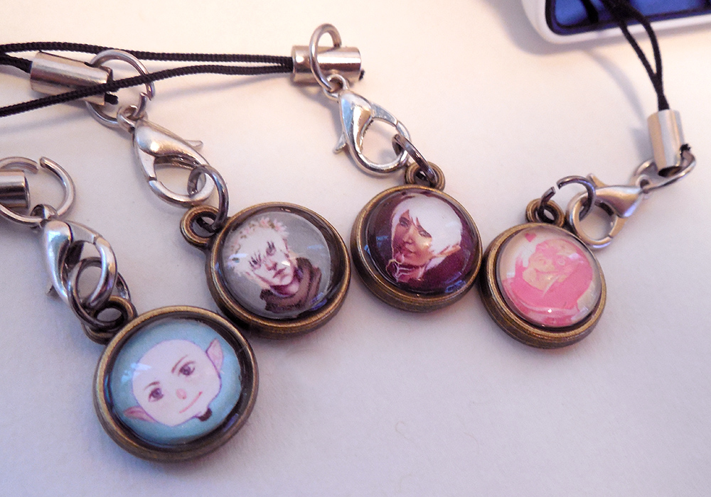 Dragon Age Double Sided Phone Charm On Storenvy