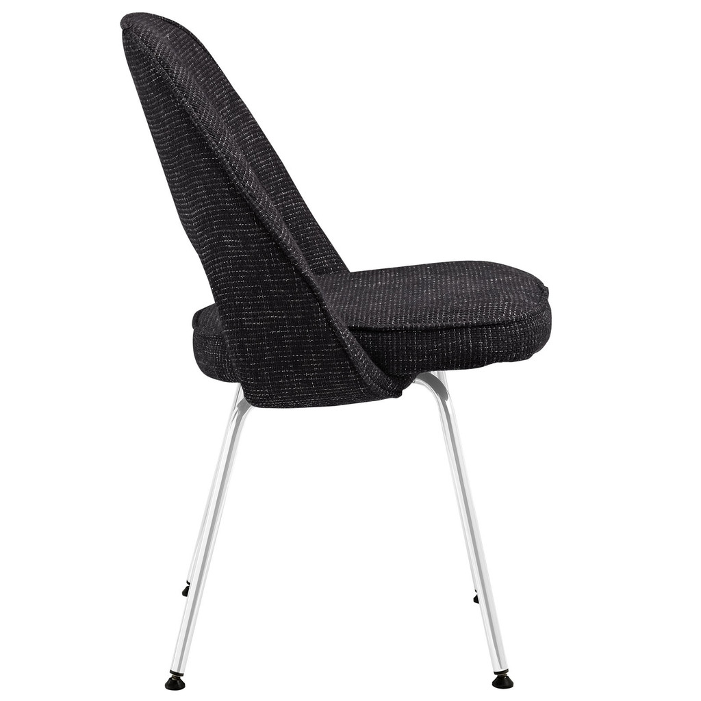 Saarinen Style Executive Armless Chair Sold By Emfurn