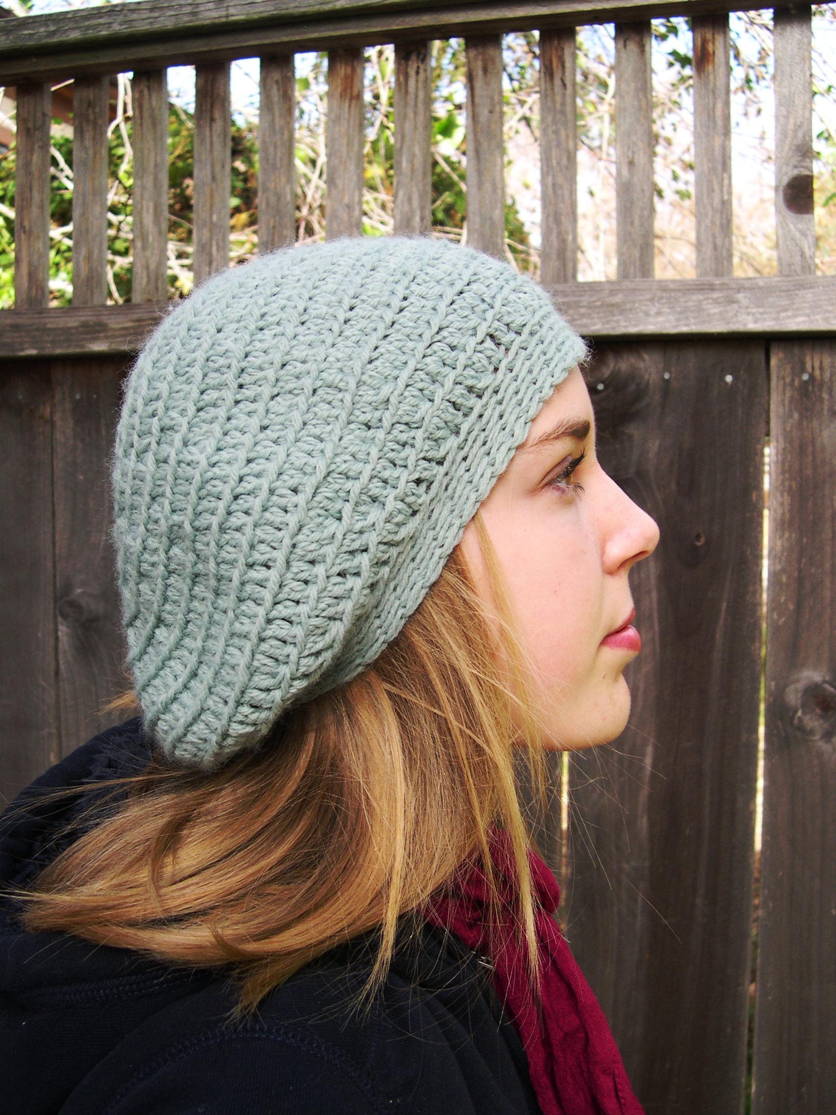 2e24c79960923 Beret Hat - Slouchy Hat - Mint Blue Hat - Wool Hat - Cozy Hat - Warm ...