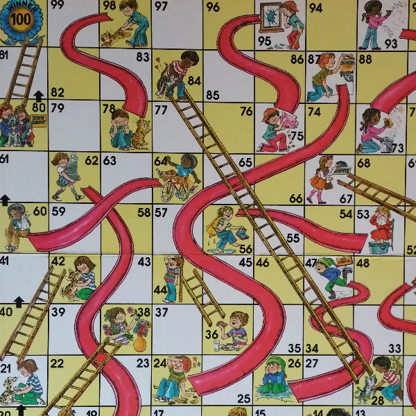 Search results for chutes and ladders board printable for Chutes and ladders board game template