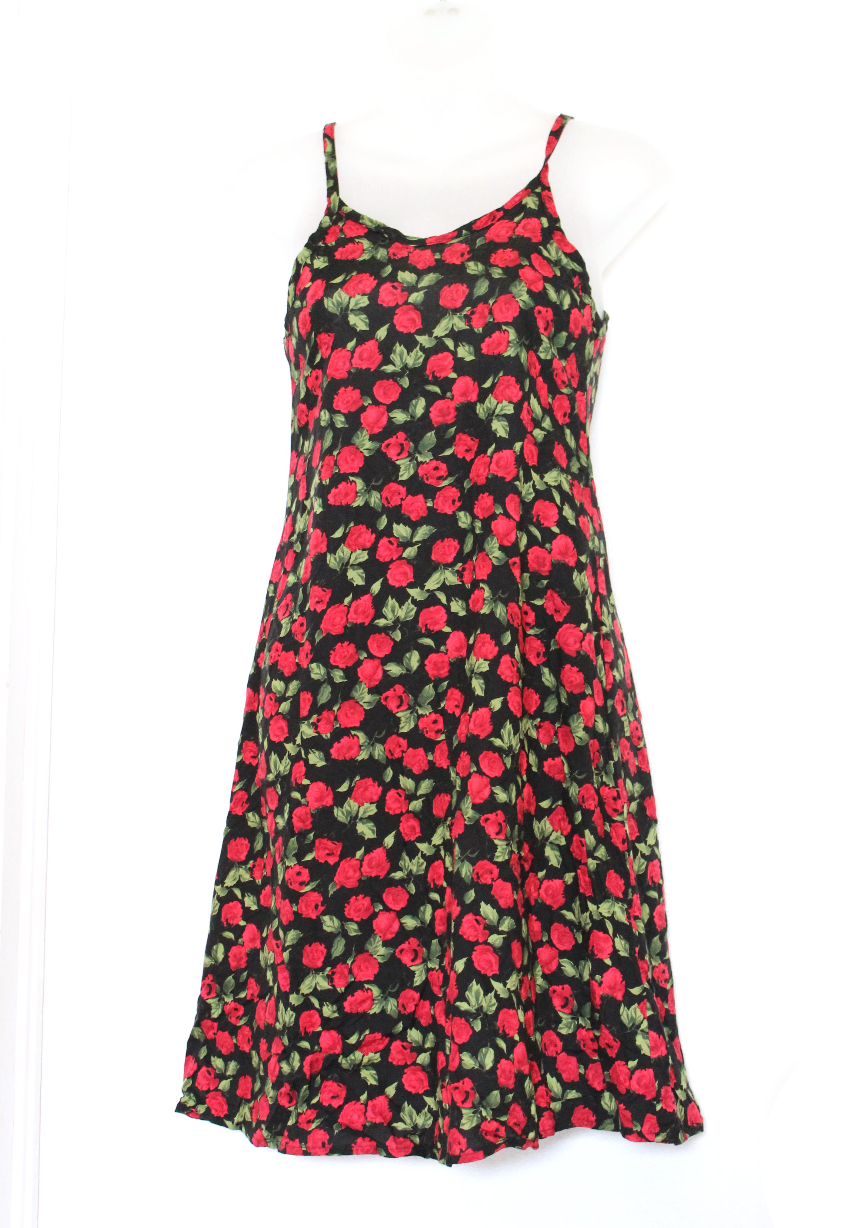 41ee458b020 Rose dress. Black and Red. Size XS 0 on Storenvy