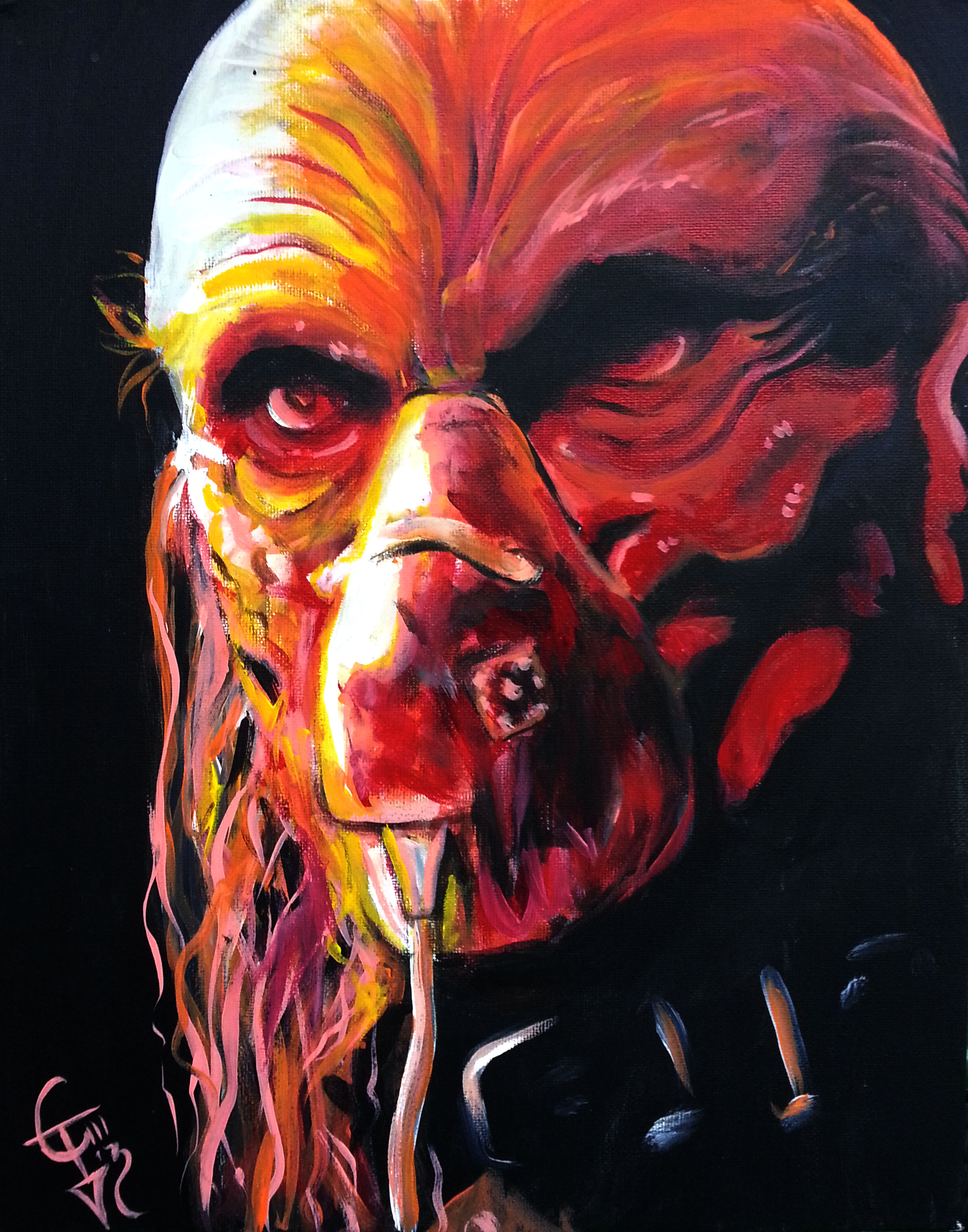 Satan Paintings Art