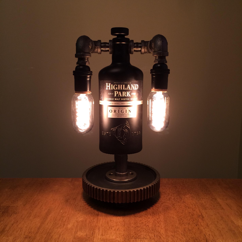 Highland Park Dark Origins Steampunk Lamp On Storenvy