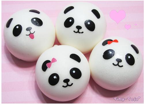 Mini Panda Bun Squishy Cell Phone Charms ? Kawaii Squishy Shop ? Online Store Powered by Storenvy