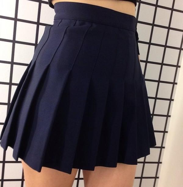 Black Tennis Skirt On Storenvy