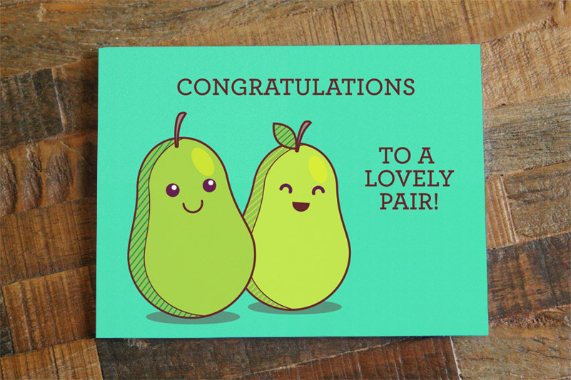 Funny Wedding Cards.Funny Wedding Card Congratulations To A Lovely Pair Cute Wedding Or Engagement Card Wedding Pun Card Silly Wedding Card Humor Card