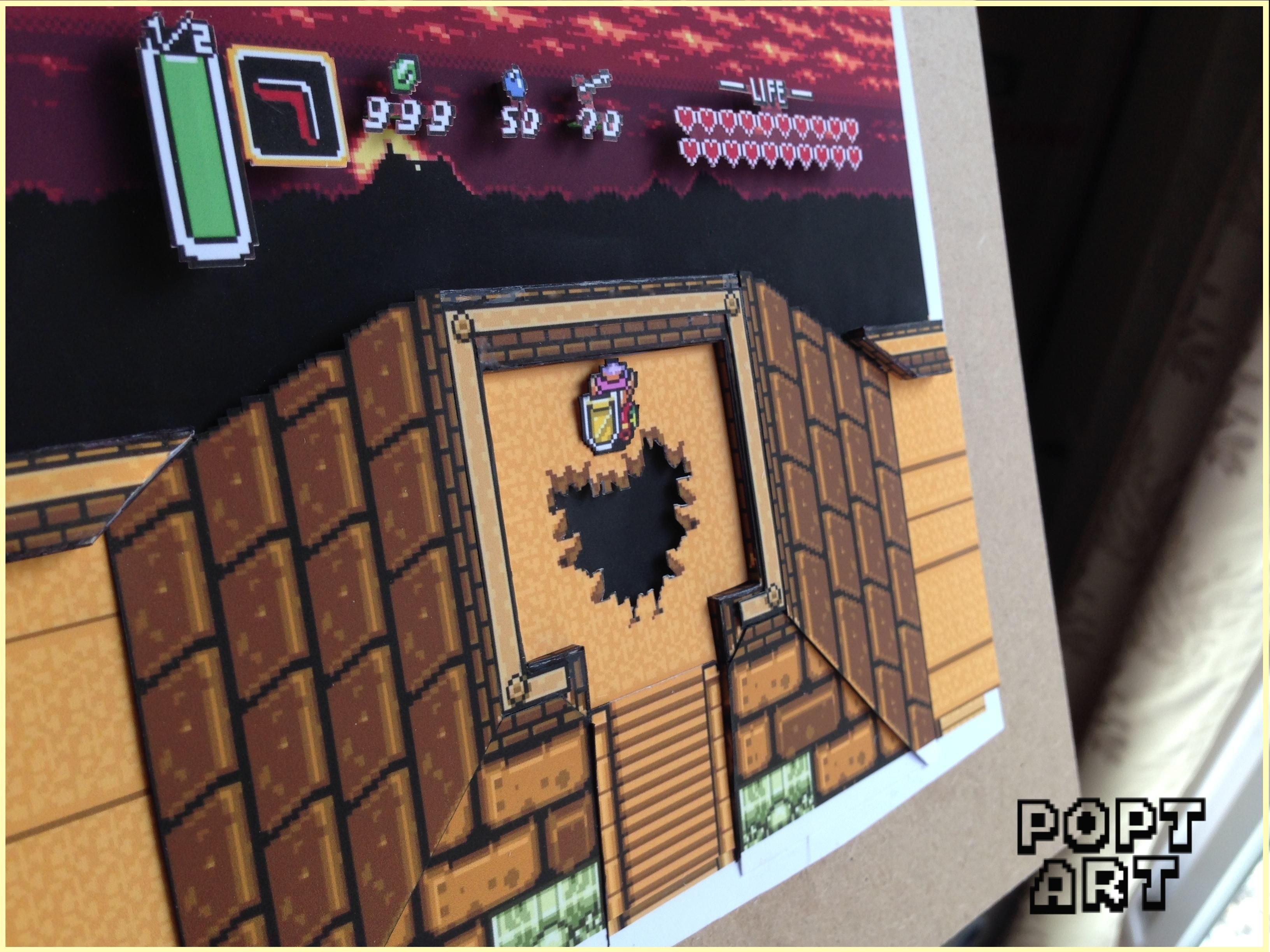 da4e6fd248 Legend Of Zelda  A Link To The Past (multi-layered