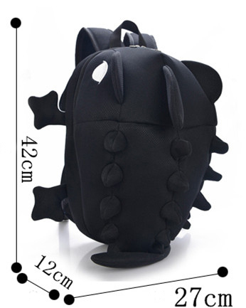 Students Cute Cartoon Monster Dinosaur Backpack 183 Fashion