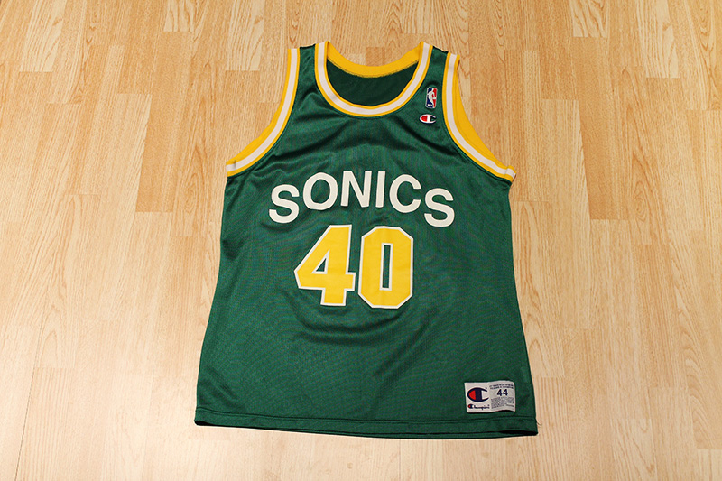 7e5cdae3591 Shawn Kemp Sonics Jersey on Storenvy