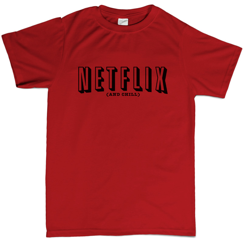 Netflix And Chill Instagram Sexy Funny Shirts Boyfriend