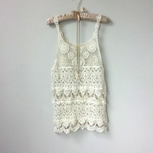 90205608b4f84 Great Gatsby Beautiful Ivory Lace Crochet