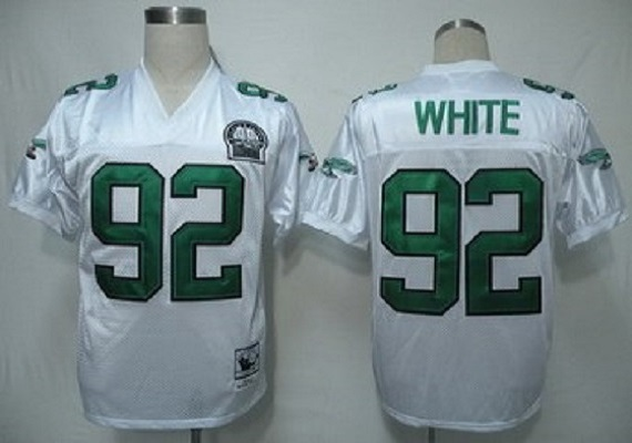 hot sales 2972c 63a85 Reggie White Philadelphia Eagles Throwback Jersey..white sold by  mylittleshoppe