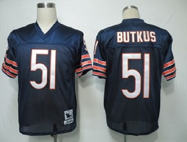 newest collection e3623 ded22 Dick Butkus Chicago Bears Throwback Jersey..blue small numbers sold by  mylittleshoppe