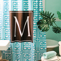 Envy This Collect Monogram Shower Curtain Personalized Custom