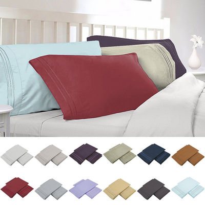 2 Piece Pillowcase Set Standard 183 The Sheet People