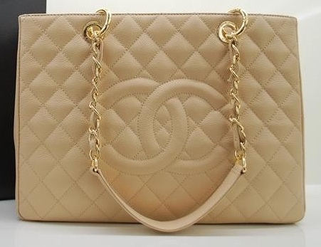 68e010adcba3 Beige Caviar GST Grand Shopper Tote on Storenvy