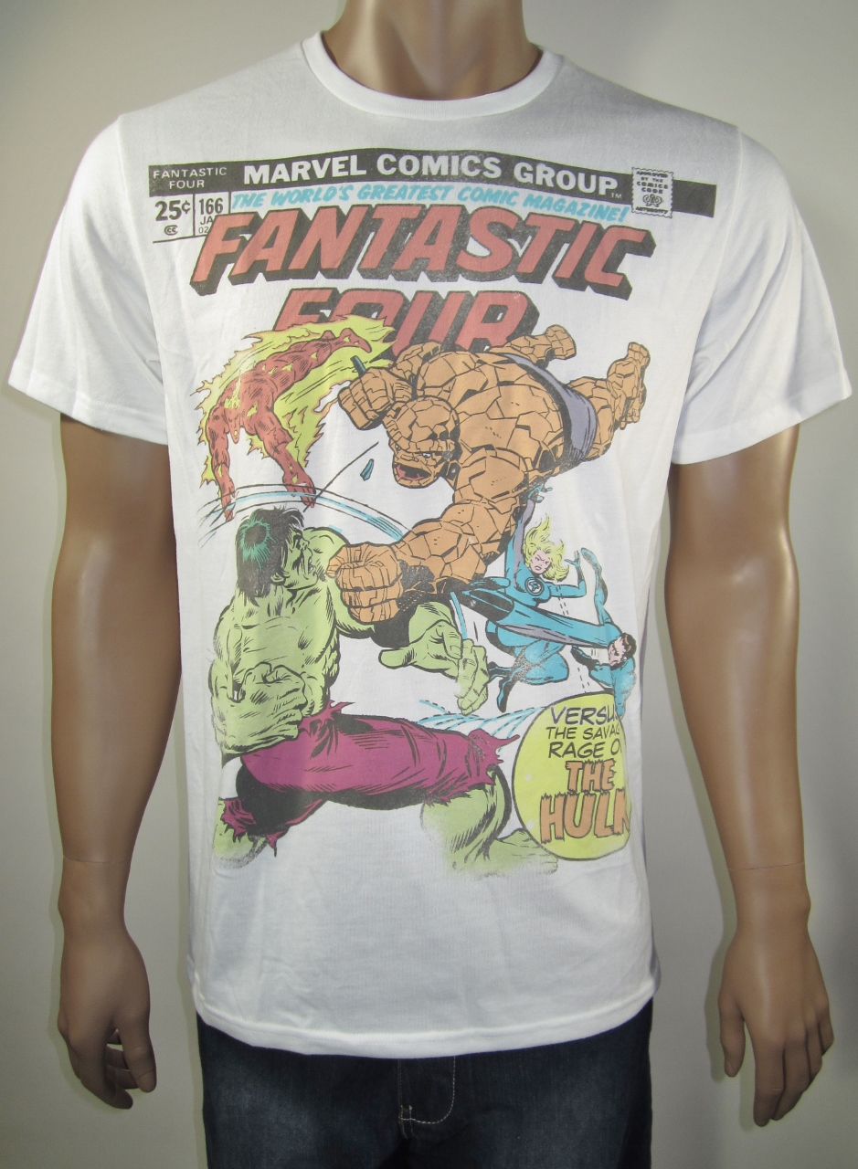 Marvel Fantastic Four Vs Hulk Old Navy T Shirt L Nwt Dfrnsh8