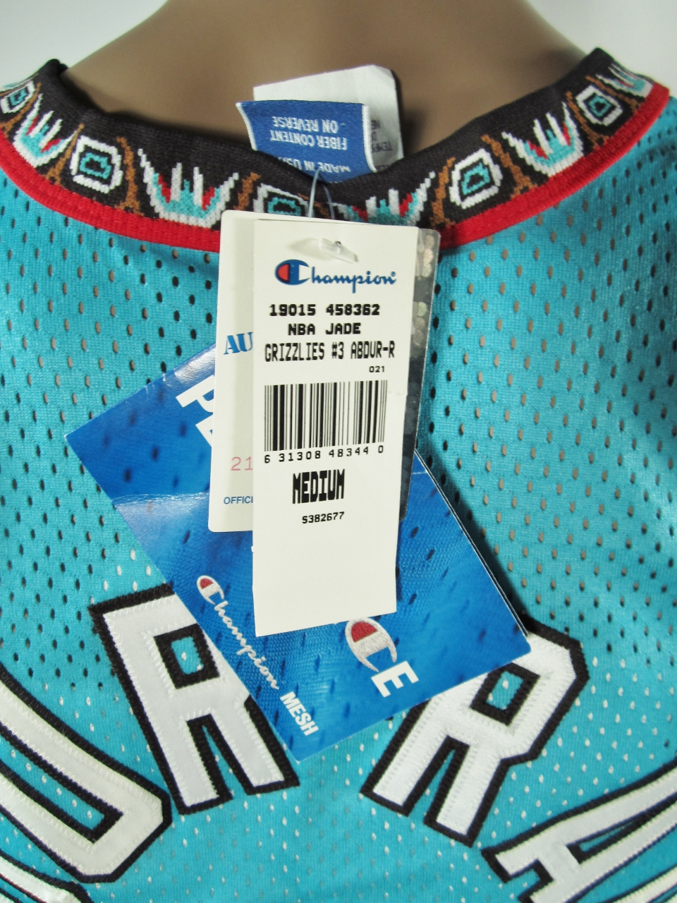 ... Shareef Abdur-Rahim Vancouver Grizzlies Authentic Champion Jersey 40 NWT  - Thumbnail 2 ... ee874f53f