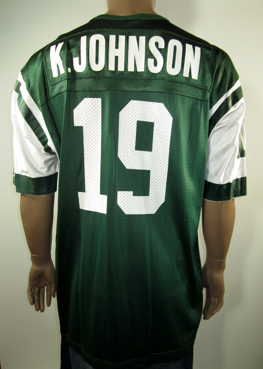 ffce22797b3 Keyshawn Johnson New York Jets NFL Champion Jersey 52 NWT - Thumbnail 1 ...