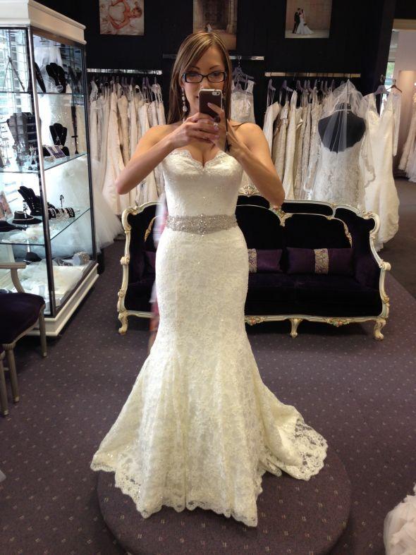 10238 Charming Wedding Dress,Lace Wedding Dress,Mermaid Wedding ...