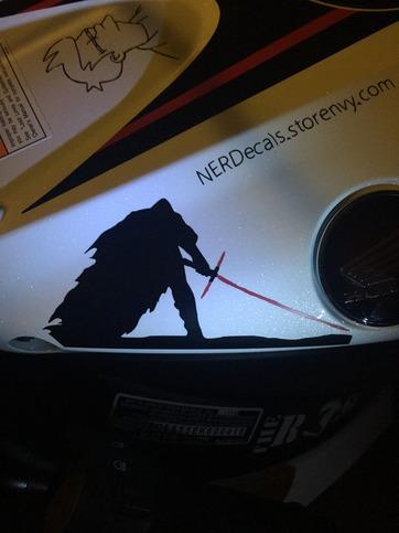 Kylo Ren Vinyl Decal On Storenvy