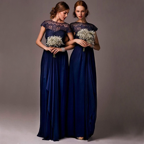 28501b1633679 short sleeve lace bridesmaid dresses, navy bridesmaid dresses, custom bridesmaid  dresses, modest bridesmaid