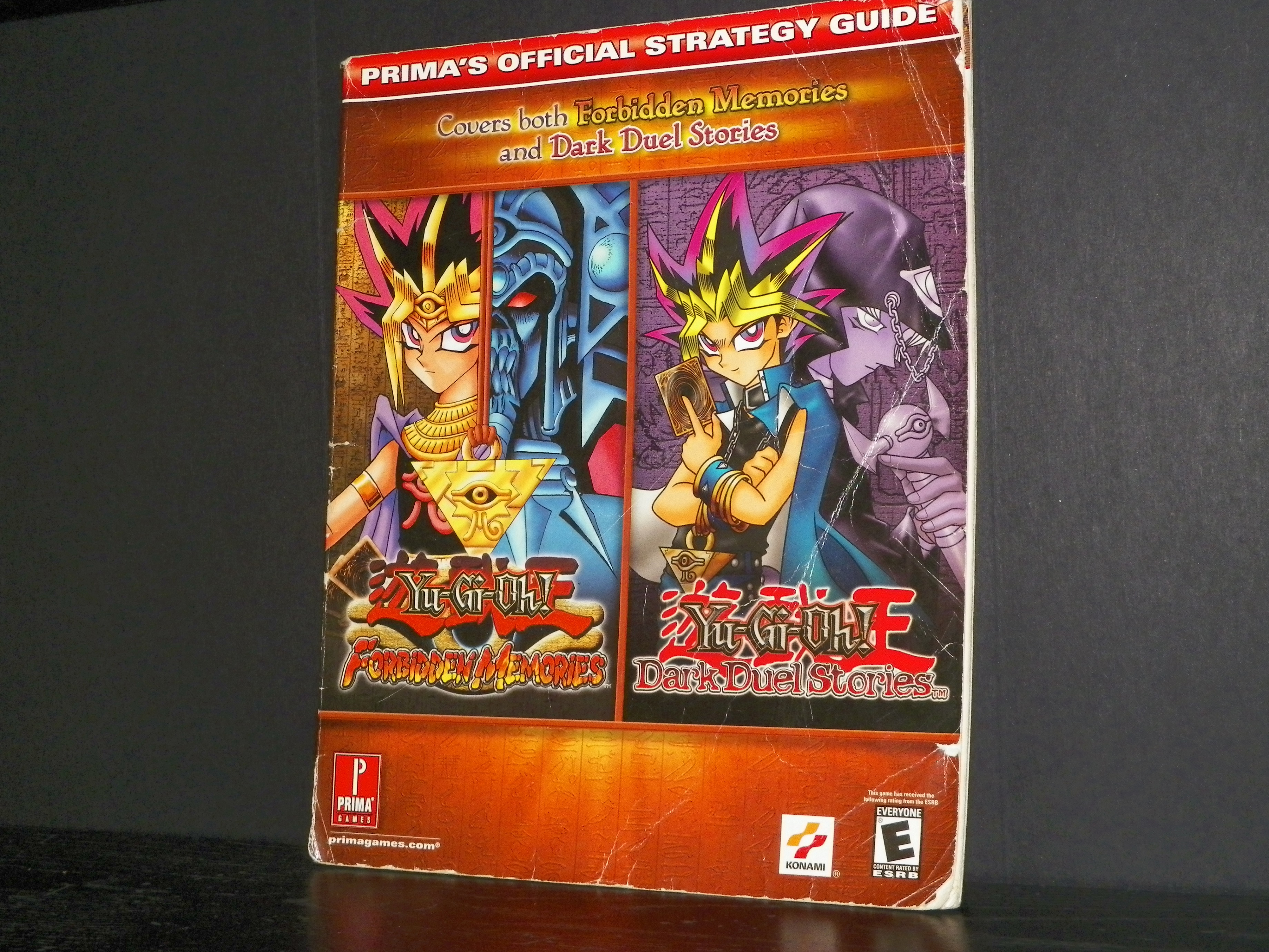 Yu-Gi-Oh: Forbidden Memories/Dark Duel Stories (Strategy Guide) from  DreamShooters