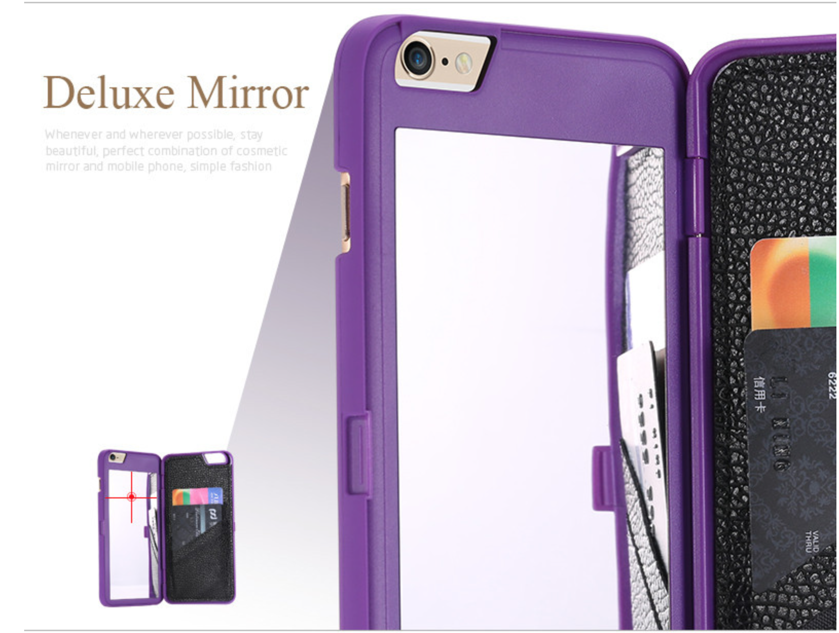 Mirror Card Holder Iphone Case On Storenvy