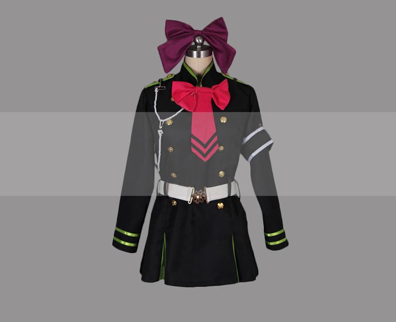 Owari no Seraph of the End Shinoa Hiragi Halloween Costume Cosplay Dress Outfit