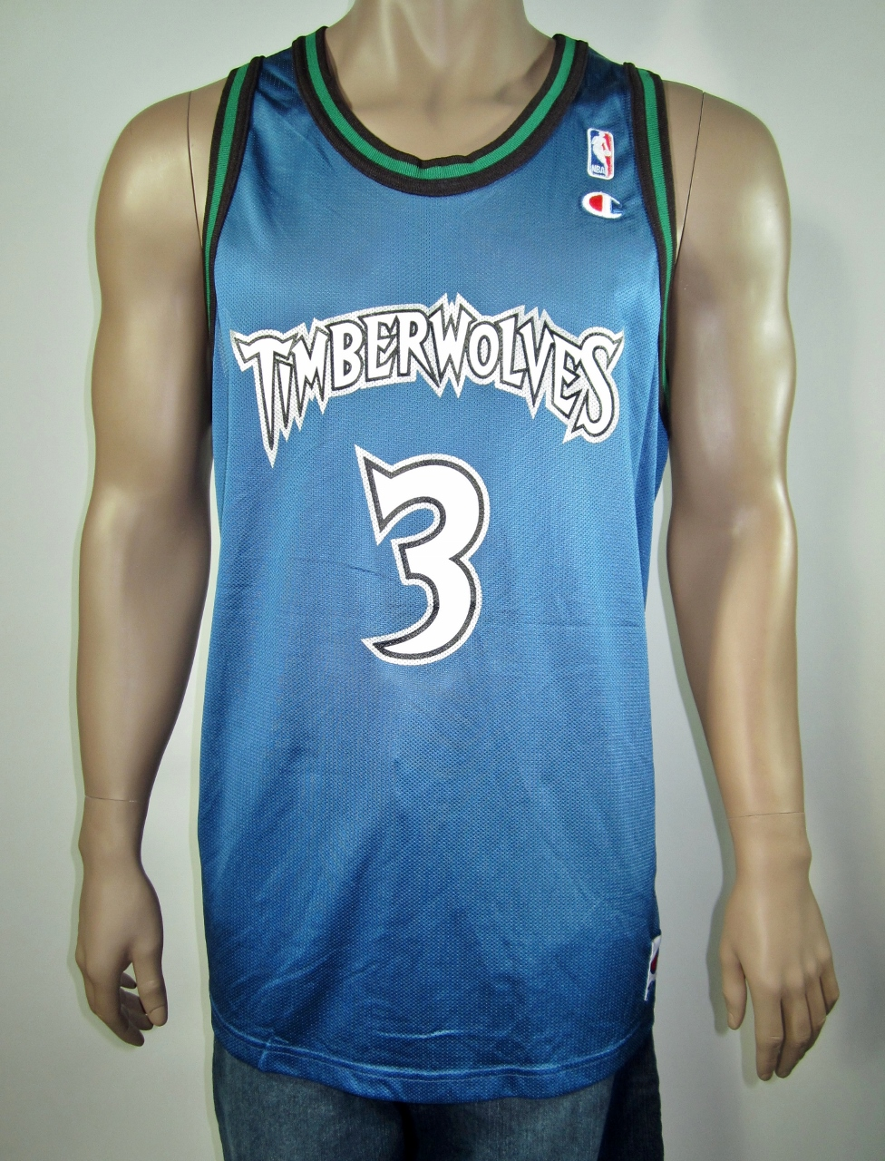 d7fe9d898a8 Stephon Marbury Minnesota Timberwolves Champion Jersey NWT on Storenvy