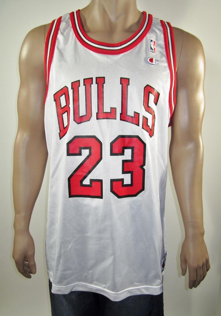 more photos fa1bd 63726 Michael Jordan Chicago Bulls Champion Jersey 48 NWT from DFRNSH8