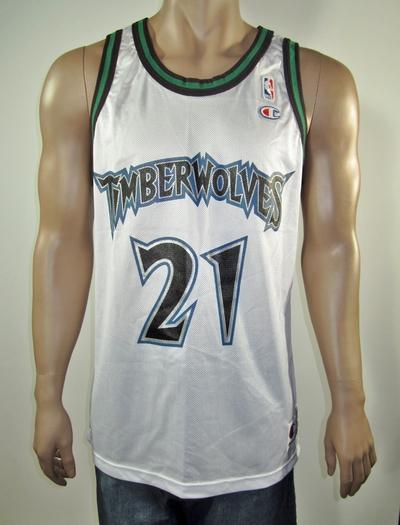 size 40 75409 fd5b8 Kevin Garnett Minnesota Timberwolves Champion Jersey 44 NWT from DFRNSH8