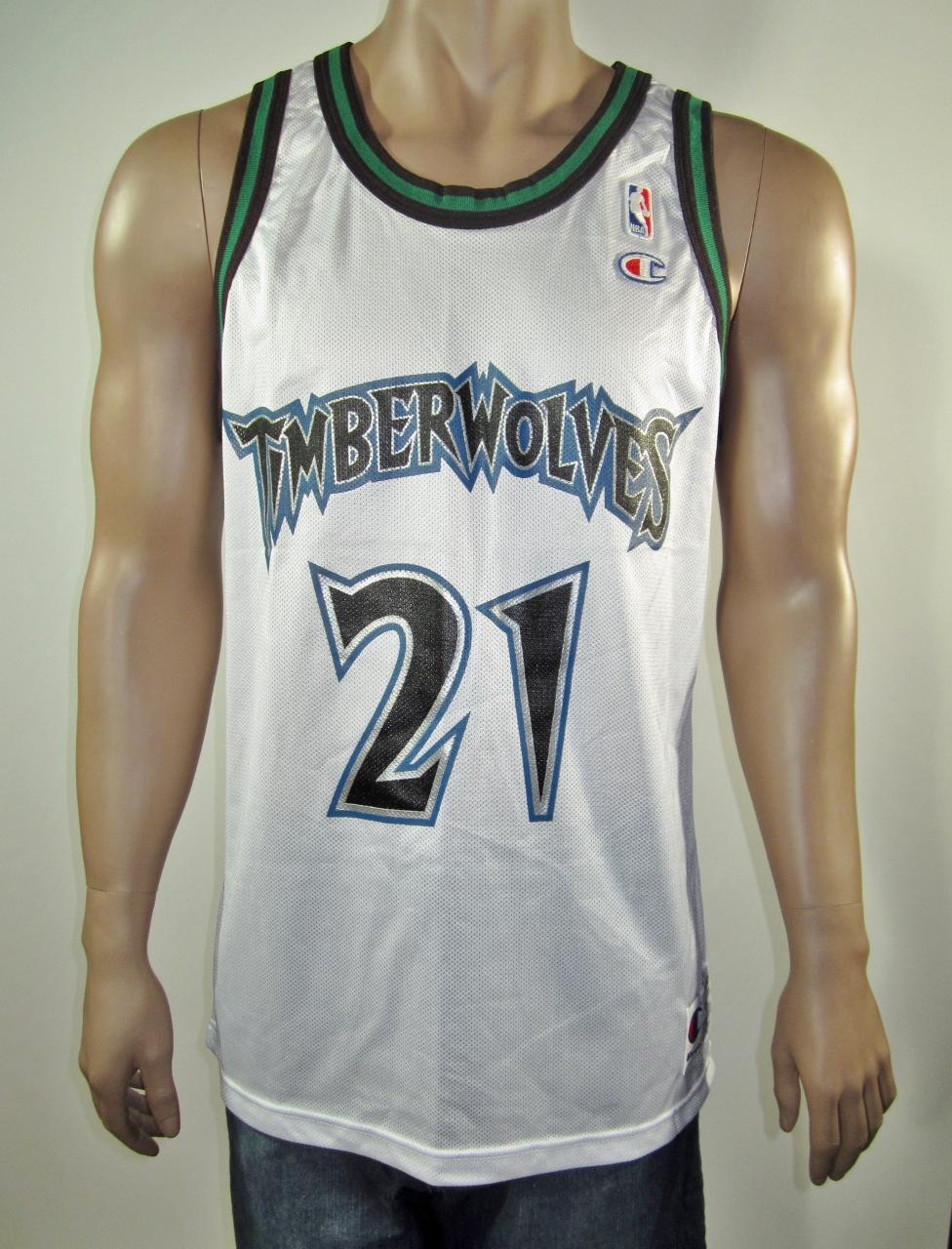 74827570ee8 Kevin Garnett Minnesota Timberwolves Champion Jersey 44 NWT on Storenvy