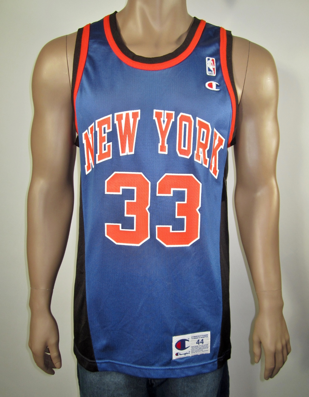 official photos 0f7c1 6b95c Patrick Ewing New York Knicks Champion Jersey 44 NWT from DFRNSH8