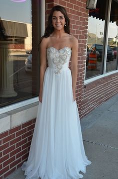White Dress Prom Dresses