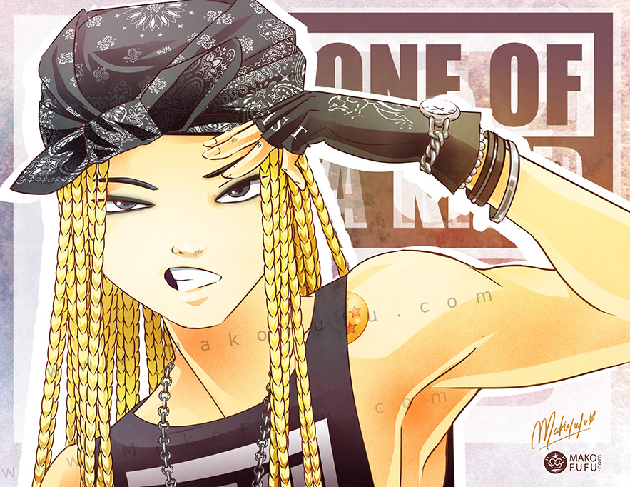 G Dragon - One of a kind [8 5x11
