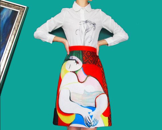 Fine Art Collection Pablo Picasso La Reve The Dream Lady -5990
