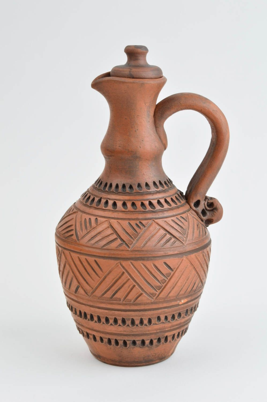 Stylish handmade ceramic jug clay milk jug water jug designs pottery works