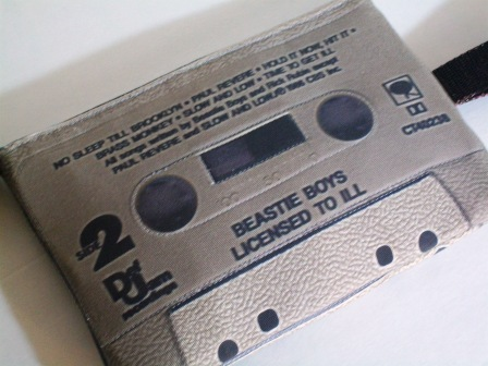 177c638a Beastie Boys Licensed to Ill Large Wristlet Cassette Tape Purse - Thumbnail  1 ...