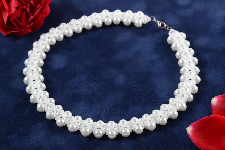 Stylish handmade beaded necklace womens jewelry designs beadwork ...