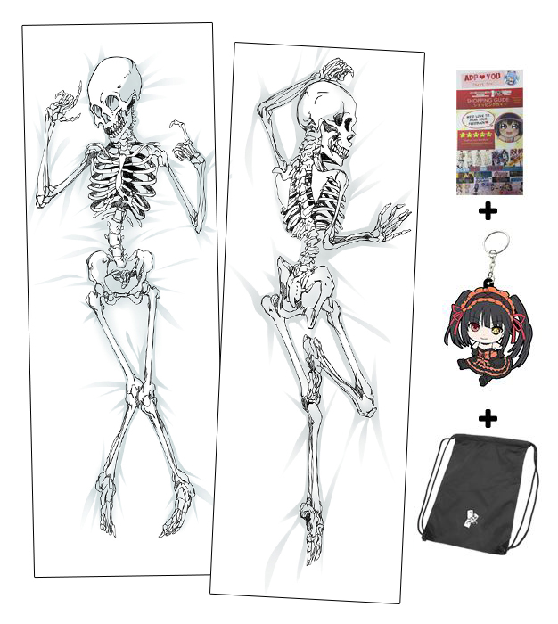 Brand New Skeleton Anime Dakimakura Japanese Hugging Body Pillow ...