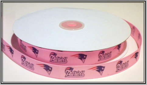 5 8 Quot New England Patriots Inspired Pink Custom Printed