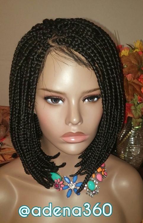 Braided Bob Lacefront Wig Medium 183 Adena360 183 Online