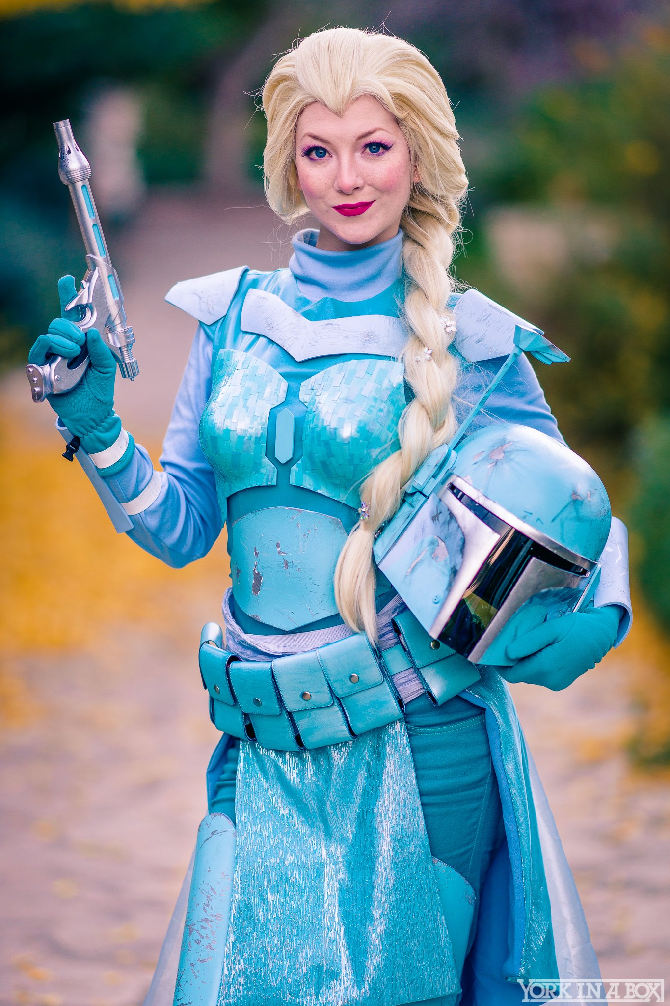 Elsa Fett Cosplay Print On Storenvy