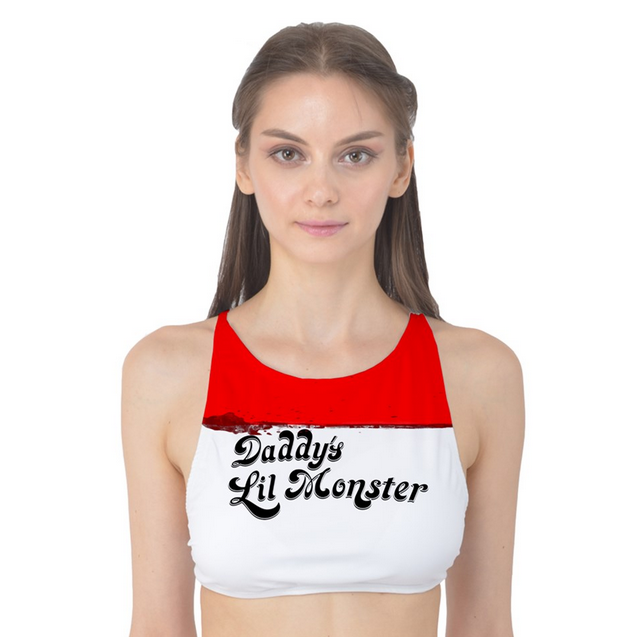 6aec2dba7 Daddy's Lil Monster Tank Bikini Top XS-3XL from Much Needed Merch
