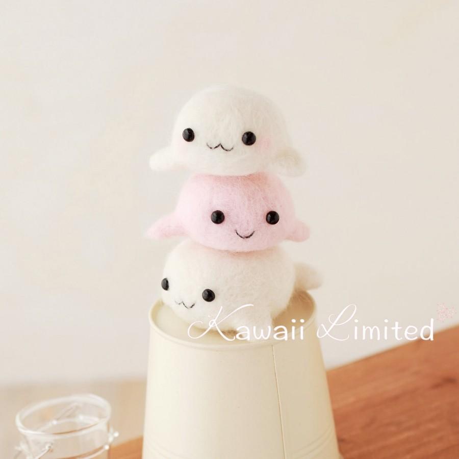 Hamanaka Kawaii Cute Twins 3 Seal Bros Doll Mascot Japanese Diy